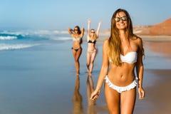 Nós amamos a praia Fotografia de Stock Royalty Free