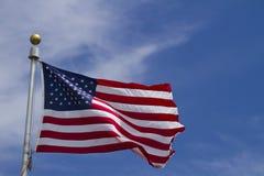 Nós bandeira Foto de Stock