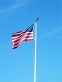 Nós bandeira Imagem de Stock Royalty Free