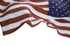 Nós bandeira Fotografia de Stock Royalty Free