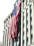 Nós bandeira - 9-11 tributo memorável 2 Fotos de Stock Royalty Free