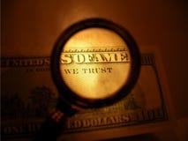 Nós confiamos Imagem de Stock