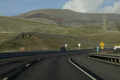 Nós estrada 95 e 195 Imagens de Stock