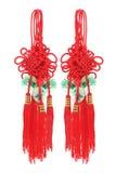 Nós místicos auspiciosos chineses Imagens de Stock Royalty Free