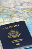 Nós passaporte foto de stock