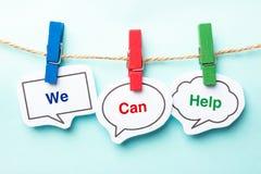 Nós podemos ajudar