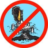 Nós protegeremos o mundo da catástrofe. Imagem de Stock Royalty Free