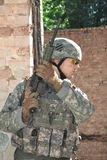 Nós soldado fotos de stock