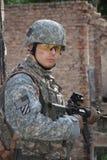 Nós soldado imagens de stock