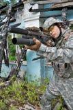Nós soldado fotografia de stock royalty free