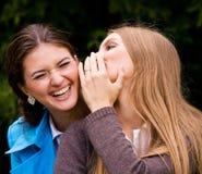 Nós somos amigas encantadoras inseparáveis Imagens de Stock Royalty Free