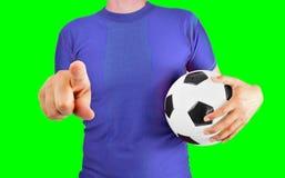 Nós somos futebol foto de stock