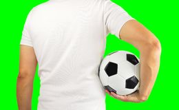 Nós somos futebol imagens de stock royalty free