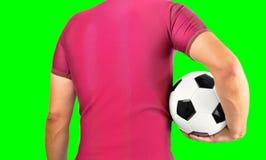 Nós somos futebol imagens de stock