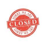 Nós somos selo fechado Ilustração do vetor Fotografia de Stock