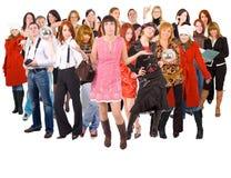Nós somos uma equipe Imagens de Stock Royalty Free