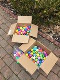 Nós temos sobre 300 ovos da páscoa Fotos de Stock