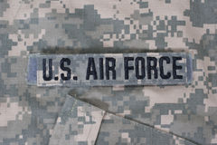 Nós uniforme da força aérea imagens de stock royalty free