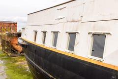 Nômada (1911), um navio a vapor da linha branca da estrela Foto de Stock