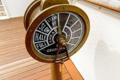 Nômada (1911), um navio a vapor da linha branca da estrela Fotos de Stock Royalty Free