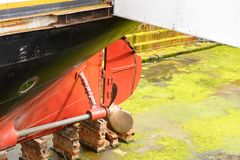Nômada (1911), um navio a vapor da linha branca da estrela Imagens de Stock