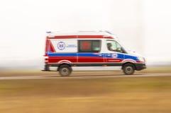 Nöd- ambulans Royaltyfri Bild