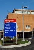 Nöd- avdelning för sjukhus Royaltyfria Bilder