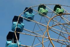 Nöjesfältrittpariserhjul fotografering för bildbyråer