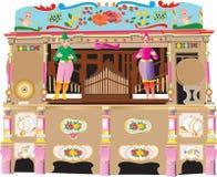 Nöjesplatsorgan stock illustrationer