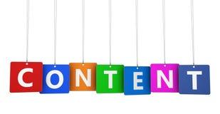 Nöjt marknadsföringstecken på etiketter Fotografering för Bildbyråer