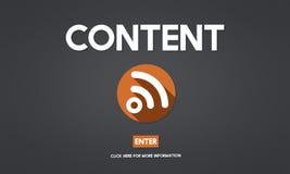 Nöjt socialt massmedia för blogg som knyter kontakt anslutningskommunikationen Co Royaltyfria Bilder