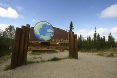 Nördlicher Polarkreis Lizenzfreie Stockfotos