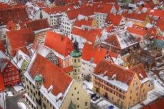 Nördlingen (Beieren, Duitsland) Royalty-vrije Stock Fotografie