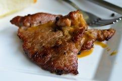 nötkött grillad salladsteak Fotografering för Bildbyråer