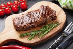 nötkött grillad steak royaltyfri fotografi