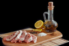 Nötkött med kryddor Royaltyfri Foto