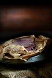 Nötkött och stekflott Arkivbilder