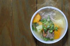 Nötkött soup3 Arkivfoton