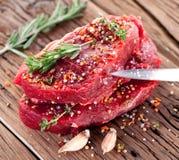 Nötköttbiff. fotografering för bildbyråer