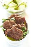 nötköttkotletter Fotografering för Bildbyråer