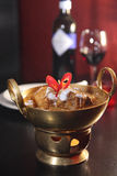 Nötköttmassaman, thailändsk populär curry arkivbilder
