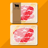 Nötköttpacke arkivfoto