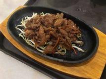 Nötköttskivor Royaltyfri Fotografi