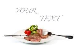 nötköttsteak Fotografering för Bildbyråer