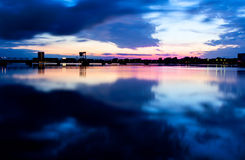 Nørresundby horisont Arkivbilder