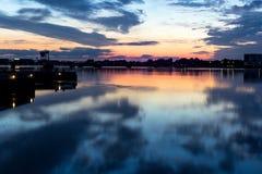 Nørresundby-Skyline Stockfotografie