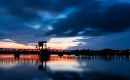 Nørresundby-Skyline Lizenzfreie Stockfotografie