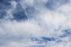 Núblese el color azul del ozono de la estación del fondo de la naturaleza del cielo Imagenes de archivo