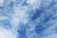 Núblese el color azul del ozono de la estación del fondo de la naturaleza del cielo Imagen de archivo libre de regalías