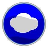 Núblese el icono Imagen de archivo libre de regalías
